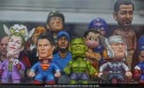 Superheroes at Delhi Comic Con