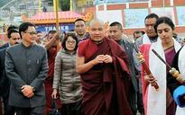 Message to China: Kiren Rijiju tweets photos of Karmapa's visit to Arunachal
