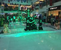 DLF Place, Saket organized musical-dance style Ramleela performance to brighten up the Dussera festivities