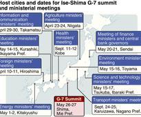 G-7 host cities seize moment in spotlight