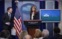 The West Wing's Allison Janney Makes Surprise Appearance at White House