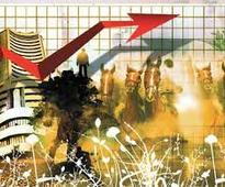 Indian stocks gain as March IIP number slightly above expectations