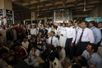 Pakistan airline employees end strike   File photo. Employees of Pakistan International Airlines (PIA) hol...