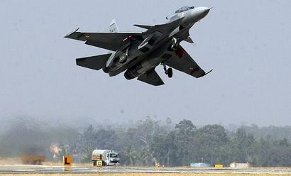China says no info on missing Sukhoi fighter jet, search ops still on