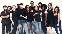 Priyanka Chopra shoots with Team Quantico for international magazine Flare