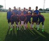 India U-17 team hold Benfica U-17 to 2-2 draw during preparation tour for Fifa World Cup