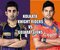 KKR vs GL Live Score, IPL 2016: Gujarat Lions beat Kolkata Knight Riders by 5 wickets