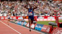 Mo Farah warms up in style for Rio 2016 Olympics at London Diamond League