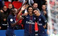 Cavani at the double again as PSG see off Bordeaux