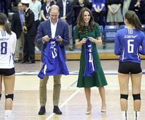 William and Kate go to university
