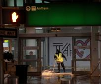 New York's JFK Airport flooded after water pipe breaks; worsens flight delays already caused by cold weather