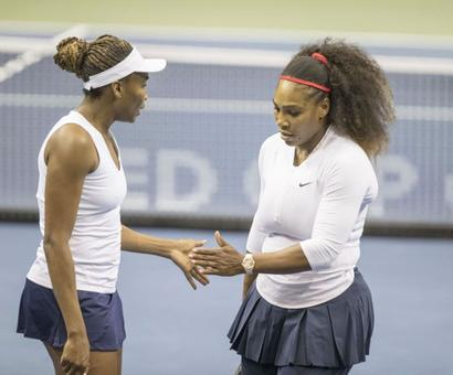 Fed Cup: Serena loses in return but says 'on the right track'