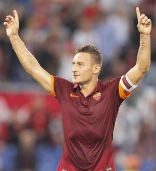 Sports Shorts: Totti declines to confirm retirement at end of season