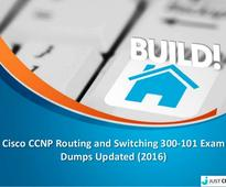 Cisco CCNP Routing and Switching 300-101 Exam Dumps Updated (2016)