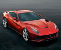 Ferrari's new F12 shrieks into SA