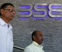 Sensex snaps three sessions of gains; banks drag