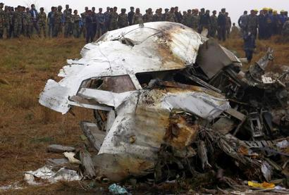 Bangladesh plane with 67 on board crashes in Nepal, 50 killed