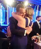 Golden Globes: Kate Winslet and Leonardo DiCaprio share a Golden moment