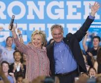 Kaine auditions for Clinton VP by ripping into Trump