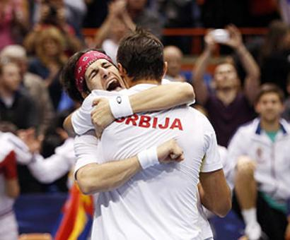 Davis Cup: Serbia, Canada eye semis berth after epic wins