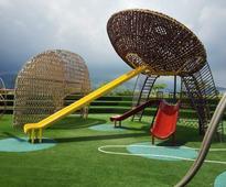 Kenneth Cobonpue designs his first playground at SM Seaside City Cebu