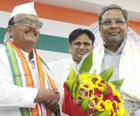 Bengaluru: Aland MLA B R Patil joins Congress, says BJP 'destroying democracy'