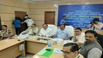 Venkaiah Naidu holds review meeting in Jharkhand