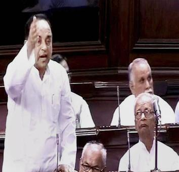 Agusta row: Swamy, Congress give notice for Privilege Motion in RS