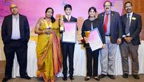 Young Achiever Award presented by The Rotary Club of Madras East