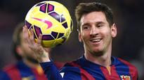 Messi double keeps Barcelona record rolling