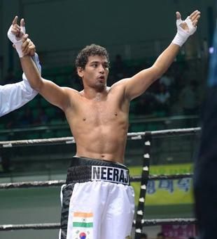 Indian boxer Neeraj one win away from Olympic qualification