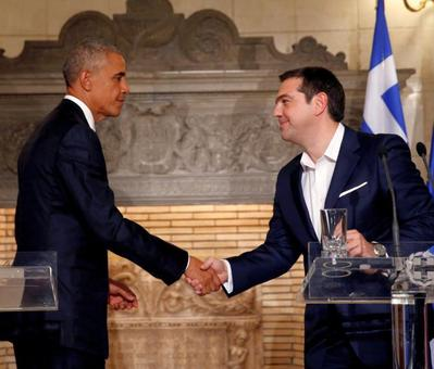 'Sometimes people want to try something to shake things up': Obama in Greece