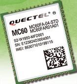 GSM/GNSS/BT combo module