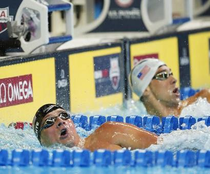 Phelps, Lochte add chapter to rivalry, Clary closes book