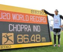 Javelin thrower Neeraj Chopra becomes first Indian athlete to win world championships