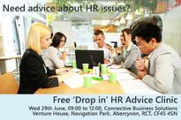 FREE drop-in HR Advice Clinic for South Wales Businesses