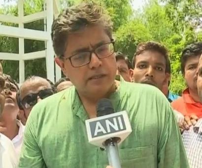 BJD MP Baijayant Panda hurt as partymen pelt stones at each other