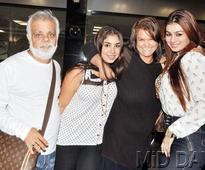 A rare snapshot Ayesha Takia and her family