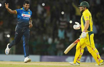 Sri Lanka level series 1-1 despite Faulkner hat-trick