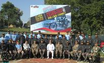 Rio flags off Assam Rifles' motorcycle expedition