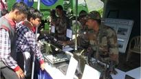 Mumbai students ride Army tank, live soldier's life in Kashmir