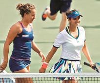 Sania-Barbara pair exits US Open