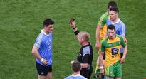 Jim Gavin reacts to Diarmuid Connolly's sending off: Refs are letting the players down