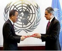 Akbaruddin presents his credentials in UN