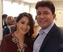 You can't miss this beautiful selfie of Madhuri Dixit and Dr. Ram Nene!