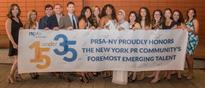 PRSA-NY Recognizes PR Industry's Rising Young Talent with Presentation of Inaugural