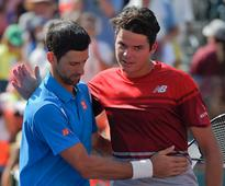 Table set for likely Raonic-Djokovic faceoff at Rogers Cup