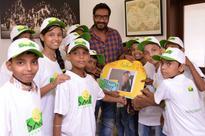 Ajay Devgn meets underprivileged children on Father's Day