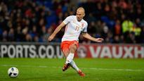 Arjen Robben returns to Netherlands squad for Belgium, Luxembourg games