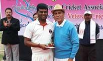 Veteran cricket gets off